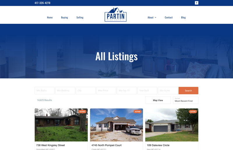 Website development in Springfield, Missouri