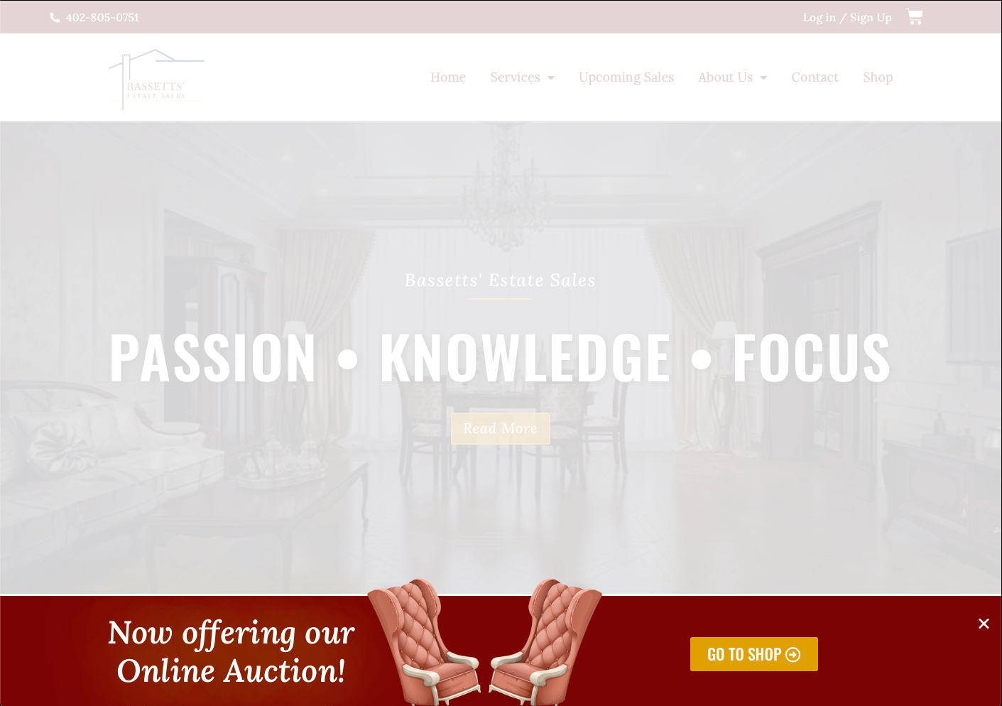Example of a popup on an e-commerce site designed by 2oddballs Creative