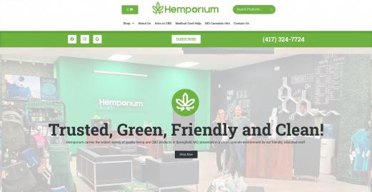 e-commerce website designed by 2oddballs
