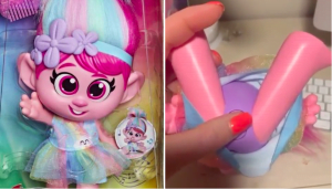 Trolls World Tour Giggle and Sing Poppy Doll