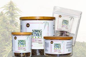 Spring River Hemp product photography by 2oddballs Creative